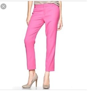 GAP slim cropped trousers.